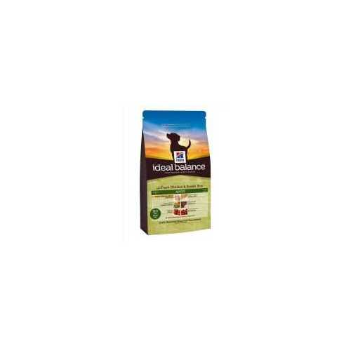 HILL'S IDEAL BALANCE ADULTO  CON POLLO FRESCO Y ARROZ INTEGRAL 12 KG