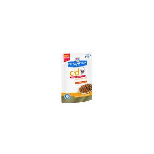 HILL'S PRESCRIPTION DIET C/D FELINE URINARY STRESS CON POLLO 85 G