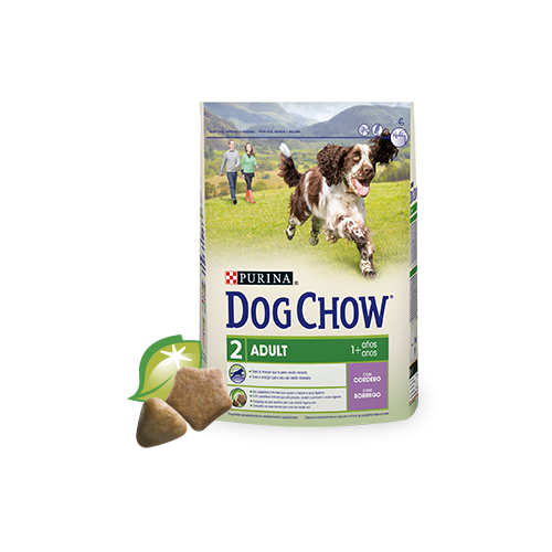 DOG CHOW ADULT LAMB 2.5 KG