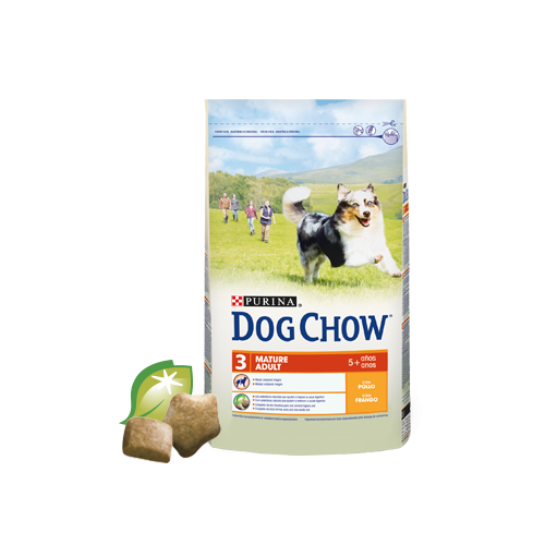 DOG CHOW MATURE ADULTO CON POLLO 14 KG