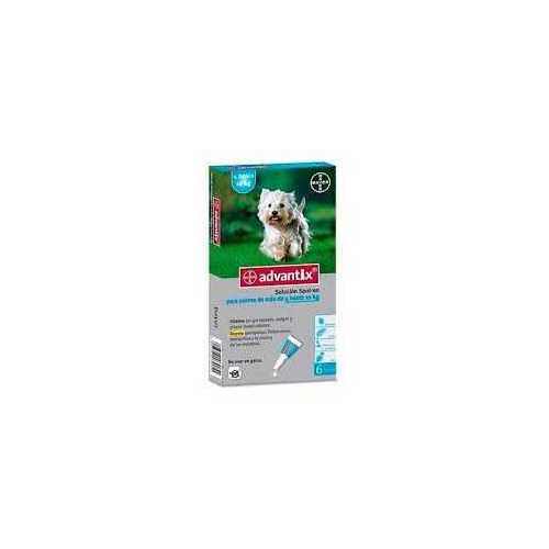 ADVANTIX TRIPLE PROTECCIÓN DE 4 A 10 KG  4  PIPETAS
