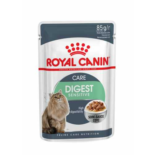 DIGEST SENSITIVE SALSA GATO 85 G ROYAL CANIN