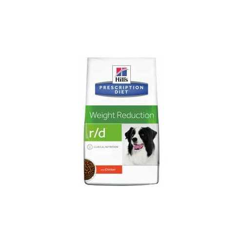 HILL'S PRESCRIPTION DIET CANINE R/D WEIGHT REDUCTION CON POLLO 12 KG