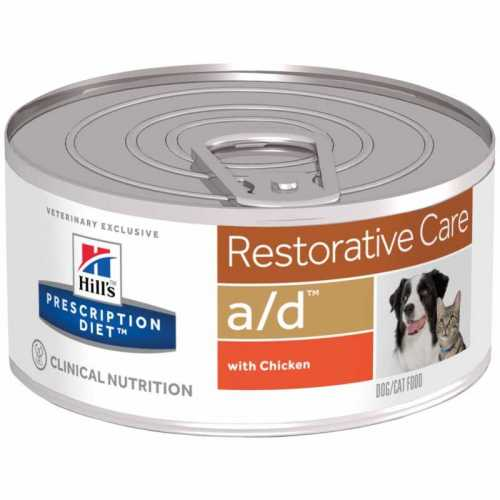 HILL'S PRESCRIPTION DIET  A/D  CANINE/FELINE 156 G