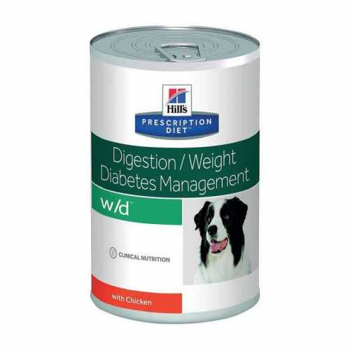 HILL'S PRESCRIPTION DIET CANINE W/D LOW FAT 370 G
