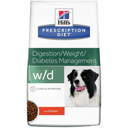 HILL'S PRESCRIPTION DIET CANINE W/D LOW FAT CON POLLO 4 KG