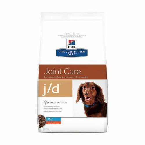 HILL'S PRESCRIPTION DIET CANINE MINI DRY  J/D  2 KG