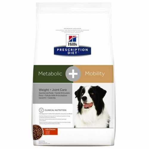 HILL'S PRESCRIPTION DIET CANINE METABOLIC + MOBILITY 4 KG