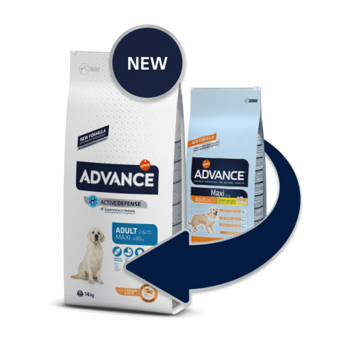 ADVANCE MAXI ADULT 14 KG CHICKEN & RICE
