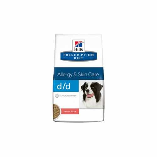 HILL'S PRESCRIPTION DIETCANINE D/D SALMON Y ARROZ 12 KG