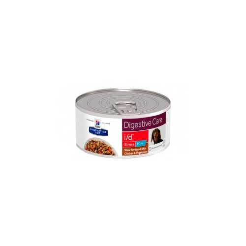 HILL'S PRESCRIPTION DIET CANINE I/D STRESS POLLO ESTOFADO 156G