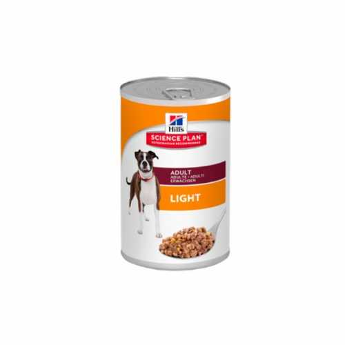 HILL'S SP CANINE ADULTO LIGHT LATAS 370GR