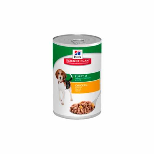 HILL'S SP CANINE PUPPY POLLO TRIPACK LATAS 370GR