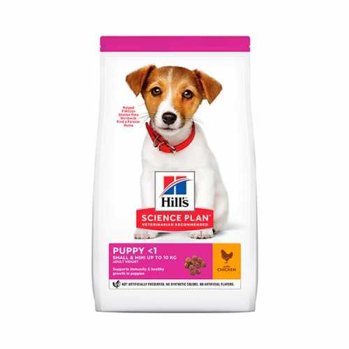 HILL'S SP CANINE PUPPY SMALL&MINI POLLO 300GR