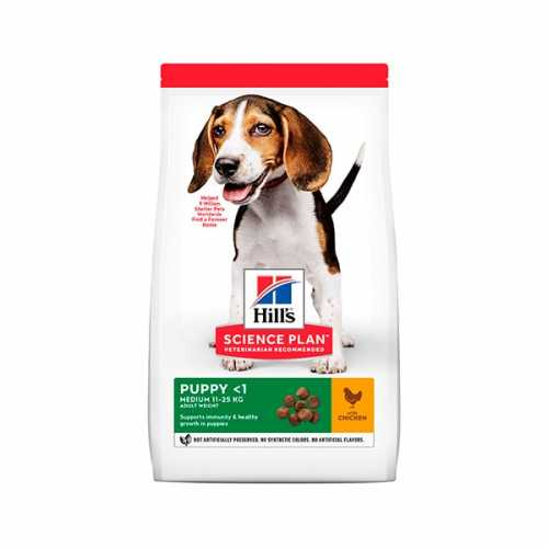 HILL'S SP CANINE PUPPY MEDIUM POLLO 18 KG
