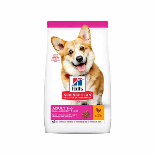 HILL'S SP CANINE ADULTO SMALL&MINIATURE 1,5 KG
