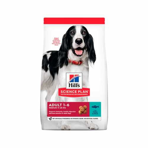 HILL'S SP CANINE ADULTO ATUN Y ARROZ 12 KG