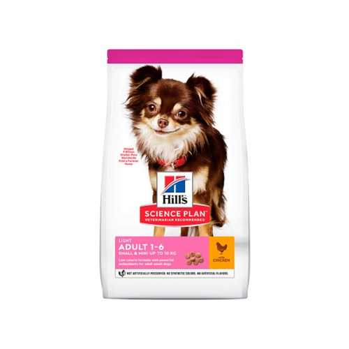 HILL'S SP CANINE ADULTO LIGHT SMALL & MINI POLLO 1,5 KG