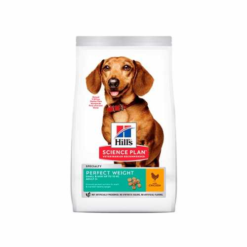 HILL'S SP CANINE ADULTO PERFECT WEIGHT MINI POLLO 6 KG