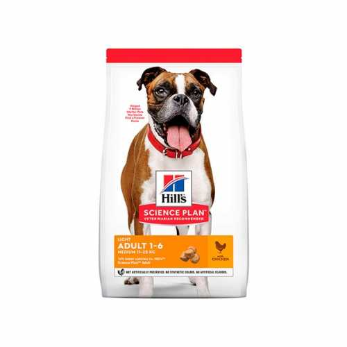 HILL'S SP CANINE ADULTO LIGHT MEDIUM POLLO 2,5KG
