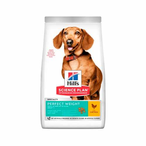 HILL'S SP CANINE ADULTO PERFECT WEIGHT SMALL & MINI POLLO 250GR