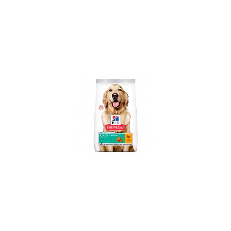 HILL'S SP CANINE ADULTO PERFECT WEIGHT LARGE BREED 12 KG