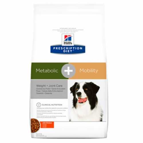 HILL'S PD CANINE METABOLIC + MOB 4 KG