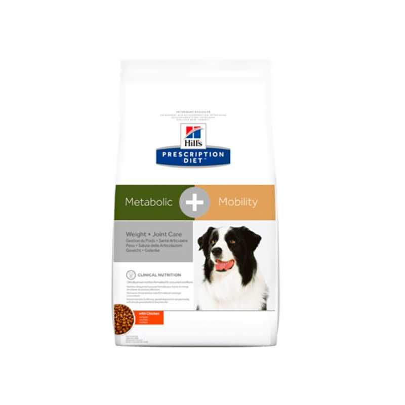 HILL'S PD CANINE METABOLIC + MOB 12 KG