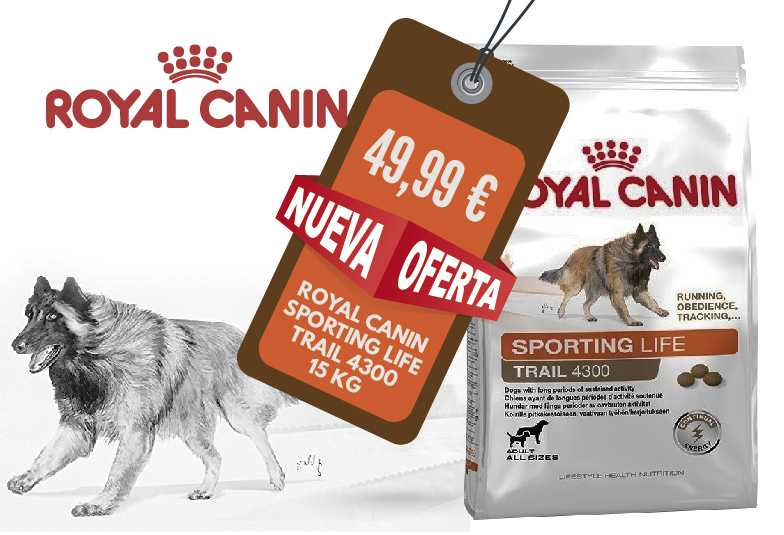 SPORTING LIFE ENDURANCE 4300  ROYAL CANIN 15 KG