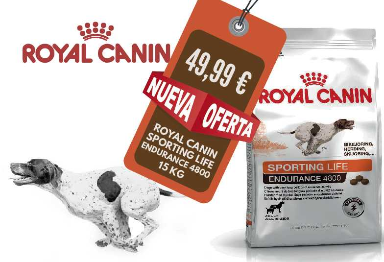 SPORTING LIFE ENDURANCE 4800 ROYAL CANIN 15 KG