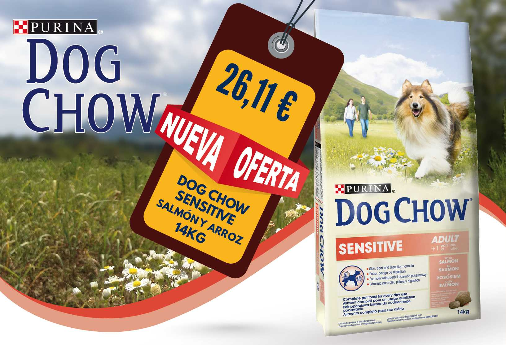 Dog Chow Sensitive 14